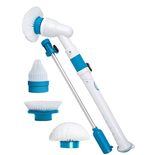SodialSpinScrubberElectricPowerfulCleaningBrushWith