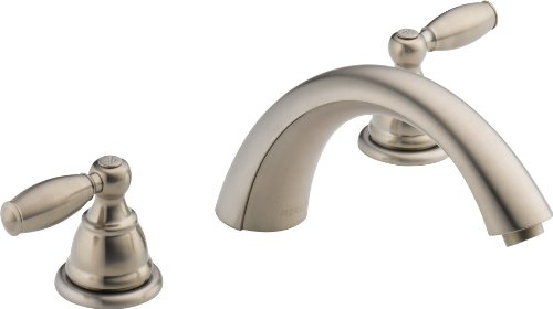 Peerless PTT298696-BN Apex Two Handle Roman Tub Trim, Brushed Nickel
