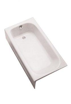 Toto FBY1515RPNo.01 Enameled Cast Iron Bathtub, Cotton