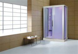Eagle Bath WS-803L 110v ETL Certified Steam Shower Enclosure 3KW generator with 2 Fold-up Seats  ...