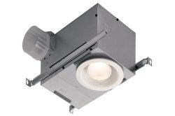 Broan 744 Recessed Bulb Fan and Light, 70 CFM 75-Watt