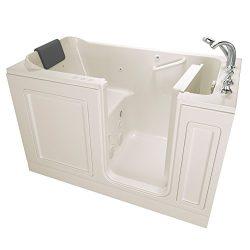 American Standard 3260.219.CRL Acrylic Luxury Series 32″ x 60″ Walk-In Bathtub with  ...