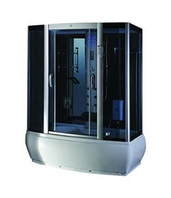 Steam Shower Enclosure Spa Sauna Whirlpool Touch Screen Computer Display 9007WS, Modern Home Des ...