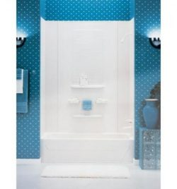 "Asb Enhance Bathtub Wall Kit 78 "" H White"