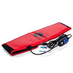 Therasage Far Infrared Muscle and Joint Tension Relief Portable Sauna Belt – Red