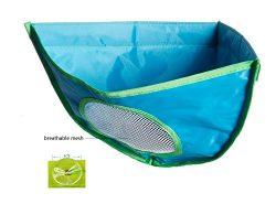 Cindy&Will 1Pcs Double-deck Waterproof Oxford Fabric Triangle Corner Bathtub Shower Toy Orga ...