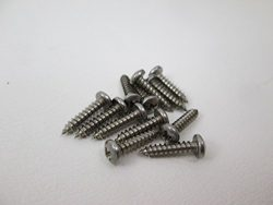 Spa Hot Tub Cover Latch Screw Kit 12 Stainless Steel Screws 1/2″ Clip Lock