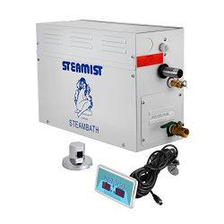 BestEquip Steam Generator Sauna 9KW Home SPA Steam Shower Generator with Digital Controller Temp ...
