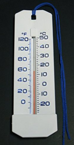 Large Easy Read Swimming Pool Spa Hot Tub Pond Bath Water Thermometer 10″