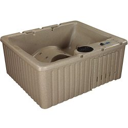 Essential Hot Tubs – Newport – 14 Jets, Lounger Rotationally Molded, Cobblestone