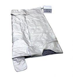 Gizmo Supply Sauna Blanket 3 Zone Detox Fir Far Infared Folding Therapy Equipment