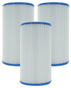 3-Pack Guardian Pool/Spa Filters • Replaces Watkins Hot Springs, Unicel C-6430, Pleatco PWK30, F ...