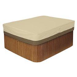 Classic Accessories 55-588-011501-00 Veranda Rectangular Hot Tub Cover, Large