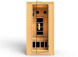 2014 JNH Lifestyles 1-2 Person Far Infrared Sauna 4 Carbon Fiber Heaters