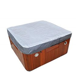 square hot tub cover cap 84Lx84Wx12H double UV resist layers swim spa cover protecter