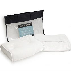 Super Soft Bath Pillow , BONUS Travel Case and Soft Removable Cover, Extra Large Suction Cups, N ...
