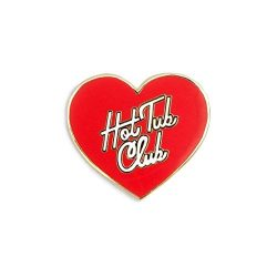 Ban.do 75409 Enamel Pin Hot Tub Club