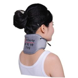 Portable Heating Pad for Neck Far Infrared Moist Heat Wrap for Neck Pain and Tension Relief Hot  ...