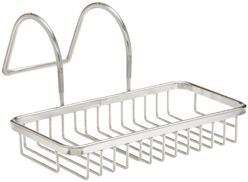 Taymor Chrome Soap and Sponge Bathtub Caddy