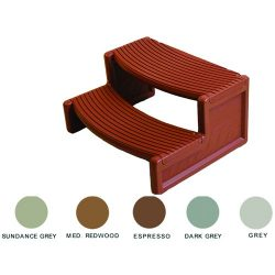 Handi-Step for Spa (Medium Redwood)
