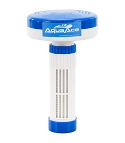 AquaAce Floating Spa / Hot Tub Dispenser for Bromine or Chlorine Tablets | Premium Adjustable Ch ...