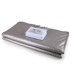 Gizmo Supply 2 Zone FIR Far Infrared Sauna Slimming Blanket 77F-167F