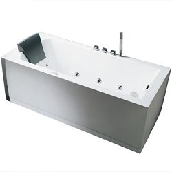 ARIEL Platinum AM154JDTSZ-R-70 Whirlpool Bathtub