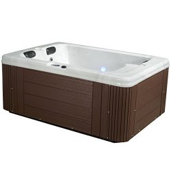 Essential Hot Tubs – Devotion – 24 Jets, Lounger Acrylic Hot Tub