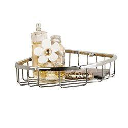 Corner Basket Shelves by MAMOLUX ACC| Solid Brass Shower Basket Shelf Tidy Rack Caddy Storage Or ...