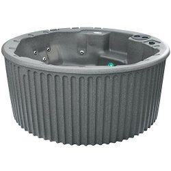 Essential Hot Tubs – Palisade – 20 Jets, Rotationally Molded, Grey Granite