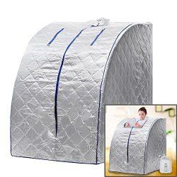 Portable Personal Steam Sauna SPA Therapeutic Slim Health Care US Plug