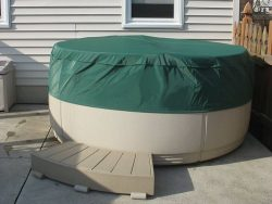 CoverMates – Round Hot Tub Cover – Cap 80DIAMETER x 14H – Classic Collection – 2 YR Warranty – Y ...