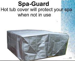 Full Hot Tub Cover 8x8x36