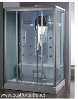 2 Person Steam Shower Room.w/aromatherapy & Steam Sauna. 9027