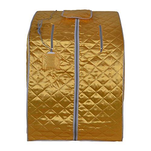 Aleko Pin15y Personal Folding Portable Home Infrared Sauna
