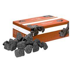 SAWO SSBAG 40 LB of Replacement Sauna Heater Rocks / Stones