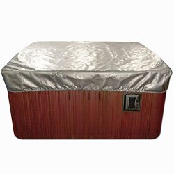 Spa Cover Cap Thermal Spa Cover Protector – 7 x 7 Feet x 12 Inches