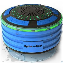 Shower Radios – Hydro-Beat Illumination. IPX7 portable fully Waterproof Bluetooth Speaker  ...