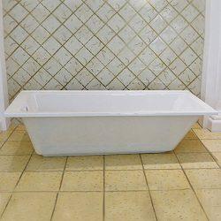 59 In Drop-in Bathtub – Acrylic White (A-OM1500)