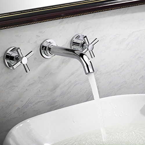 Lightinthebox contemporary warerfall bathroom sink faucet - Long bathroom sink with two faucets ...