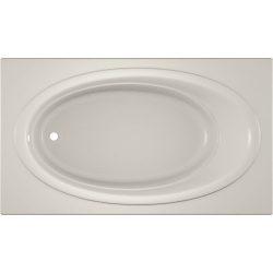 Jacuzzi NOV7242BUXXXXY  NOV7242 BUX XXX 72-Inch x 42-Inch Nova Drop in Soaking Bathtub with Univ ...