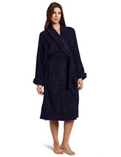Superior Hotel & Spa Robe, 100% Premium Long-Staple Combed Cotton Unisex Bath Robe for Women ...