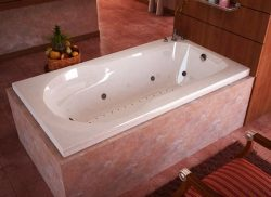 Atlantis Whirlpools 3260zdr Zepher Rectangular Air & Whirlpool Bathtub, 32 X 60, Right Drain ...
