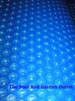 New 7′ x 7′ SPA HOT TUB SOLAR THERMAL FLOATING BUBBLE COVER BLANKET 7'x7&#8242 ...