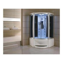 WS-609P 110v ETL Certified Steam Shower Enclosure (3KW generator) with Whirlpool Tub Acupuncture ...
