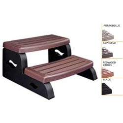 Leisure Concepts DS2PR DuraStep II Spa Step 27″ width with Portobello Color