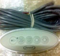 Jacuzzi Y181000;; Control panel electronic 800 watt panel with clear edge border, allowing tub c ...
