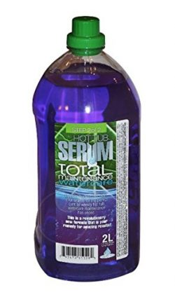Hot Tub Serum Total Weekly Maintenance For Hot Tubs and Spas. 6-Month Watercare System