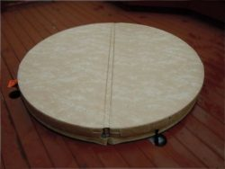 BeyondNice 76in Round Hot Tub Covers – Spa Covers – Replace your heavy, old cover