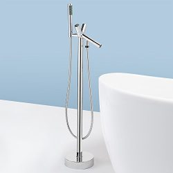 AKDY Freestand Floor Mounted AZ8711A Clawfoot Bathtub Faucet.